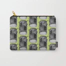 Mysterious Forest Creatures In Tree Log Carry-All Pouch