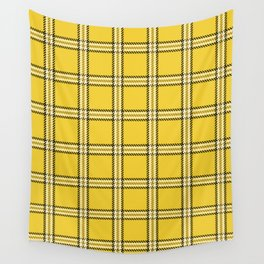 Clueless Plaid Wall Tapestry