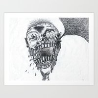 Louder Than Thoughts Art Print
