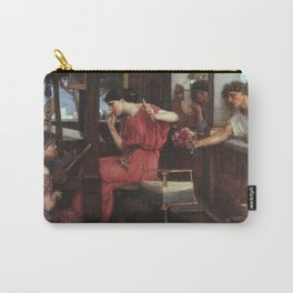 John William Waterhouse Penelope and the Suitors 1912 Carry-All Pouch