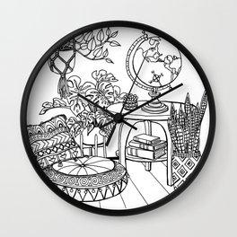 The Wanderer's Room Wall Clock