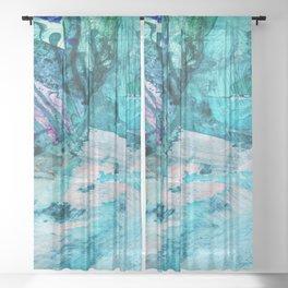Rupture Sheer Curtain