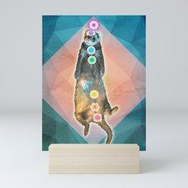 Ferret Shavasana Mini Art Print