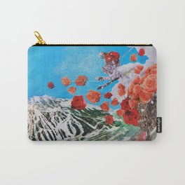 Ski Roses Carry-All Pouch