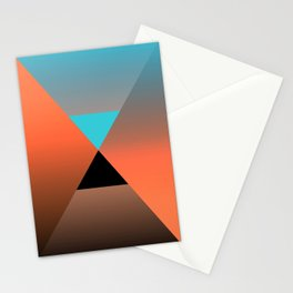 Triangle 4 Stationery Cards