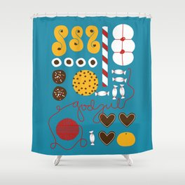 Jul Shower Curtain