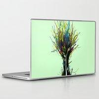 creativity Laptop & iPad Skins featuring Creativity by Tobe Fonseca