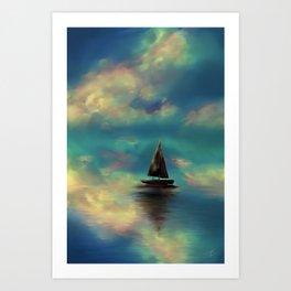 Water mirror Art Print