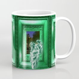 Angel of Bristol (Green) Coffee Mug
