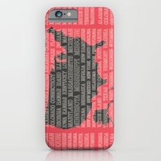 50 States of America Slim Case iPhone 6s