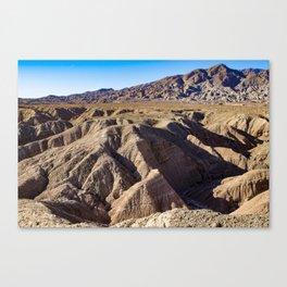 View towards Granite Mountain in the Anza Borrego Desert State Park, California, USA Canvas Print
