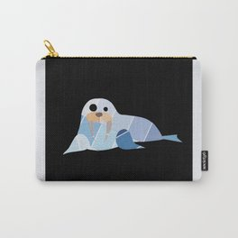 Paint Chip Walrus Carry-All Pouch