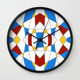 Abstract Church Window No1 Wall Clock