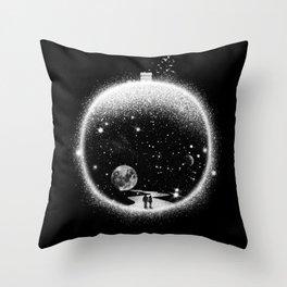 Utopia - Romantic Illustration Throw Pillow