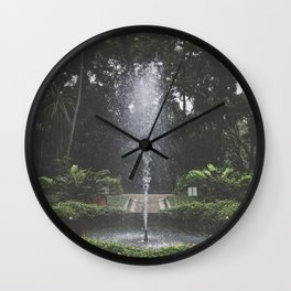 Parque Laje - Rio de Janeiro Wall Clock