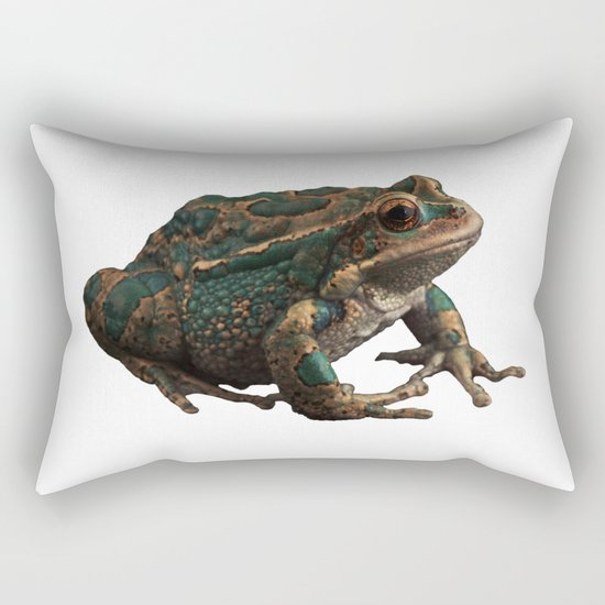 Frog 6 Rectangular Pillow