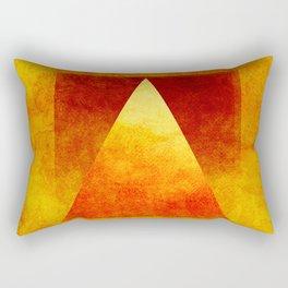 Triangle Composition VI Rectangular Pillow