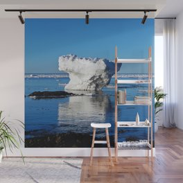Iceberg in the Shallows Wall Mural