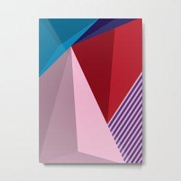 Abstract Modernist Metal Print