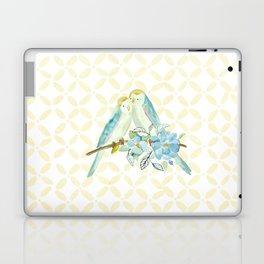 The love birds Laptop & iPad Skin