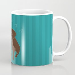Retriever ChocoBlack Coffee Mug