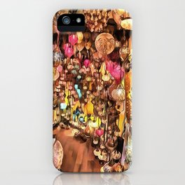 Lanterns, Lamps and Lighting of The Bazaar iPhone Case