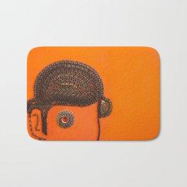 002: Clockwork Orange - 100 Hoopties Bath Mat