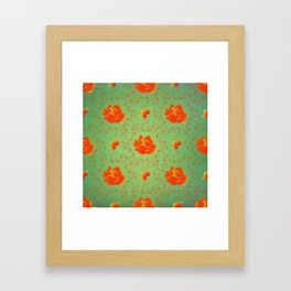And No Other Flowers Framed Art Print
