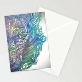 Ornament Bear - Mother Of Pearl Stationery Cards