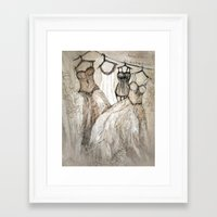 theater Framed Art Prints featuring theater by woman