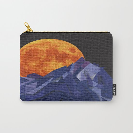 Night Mountains No. 20 Carry-All Pouch