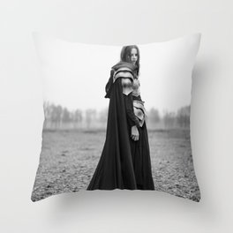 By The Void Throw Pillow