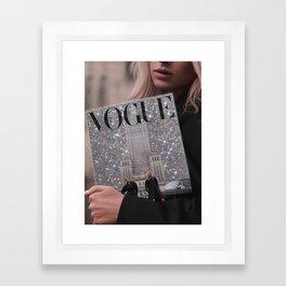 The Magazine Framed Art Print