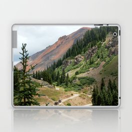 Road to the Longfellow Mine, elevation 11,080 feet Laptop & iPad Skin