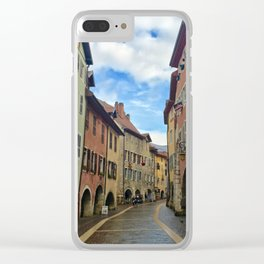 Follow the Yellow Brick Road Clear iPhone Case