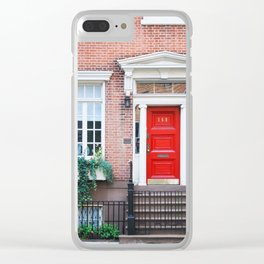 156. House 168, New York Clear iPhone Case