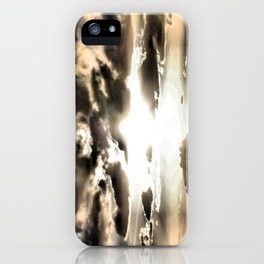 Sun Rays iPhone Case