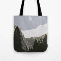 yosemite Tote Bags featuring Yosemite by Amanda Bates