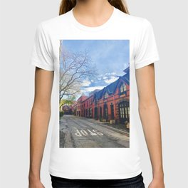 STOP For Brooklyn Heights Brownstone Red Brick Love T-shirt