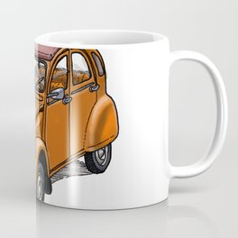 Orange 2CV Coffee Mug