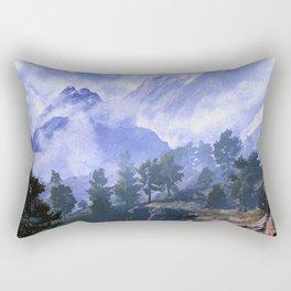 Our beloved mountains Rectangular Pillow