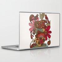 good morning Laptop & iPad Skins featuring Good Morning by Valentina Harper