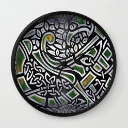 Celtic Birds Knot Work 3D Wall Clock