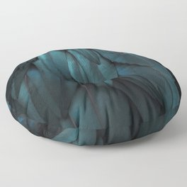 DARK FEATHERS Floor Pillow