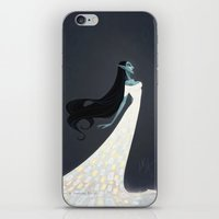 sith iPhone & iPod Skins featuring Baobhan Sith by Samantha Youssef