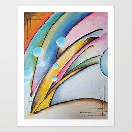 Birth of a Wave Art Print