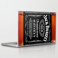 jack daniels Laptop & iPad Skins featuring JACK DANIELS by Bilqis