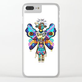 Kachina Butterfly 5 Clear iPhone Case
