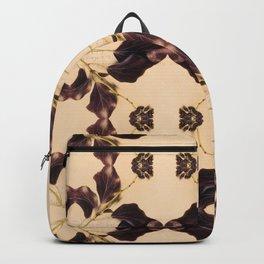 Blackberry Kaleidoscope Photographic Pattern #1 Backpack