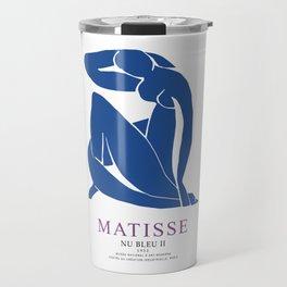 Henri Matisse Nu Bleu II (Blue Nude II) 1952 Artwork for Wall Art, Prints, Posters, Tshirts, Men, Women, Youth Travel Mug